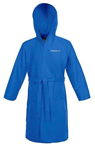 Speedo Microfiber Albornoz, Hombre, Azul (Azure), S