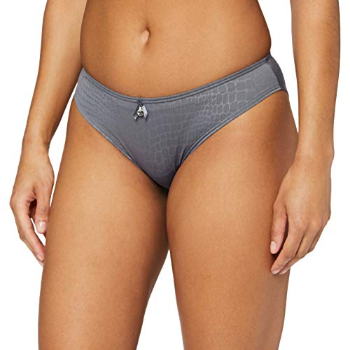 Sassa Damen Slip Bikinislip, Grau (Dusty Grey 580), 46