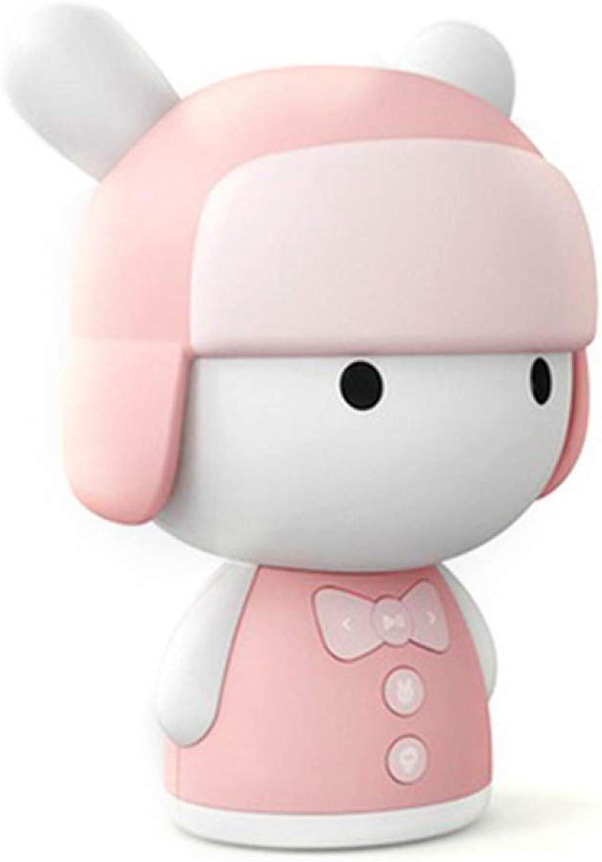 HYTGFR Intelligent Story Teller Robot Toy 8Gb Mini Robot Speaker,Pink