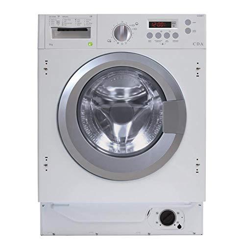 CDA CI381 White 8kg Fully Integrated 1400rpm 16 Program Washing Machine A+++