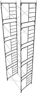 Metaltech Saferstack 5ft. x 5ft. x 7ft. Mason Frame - Set of 5, Large Diameter Tubing, Model Number M-MFS606084K5