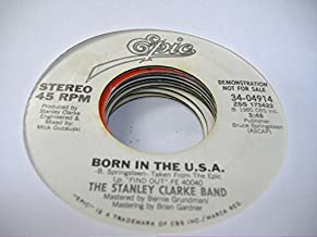 THE STANLEY CLARKE BAND 45 RPM Born In The U.S.A. / Same