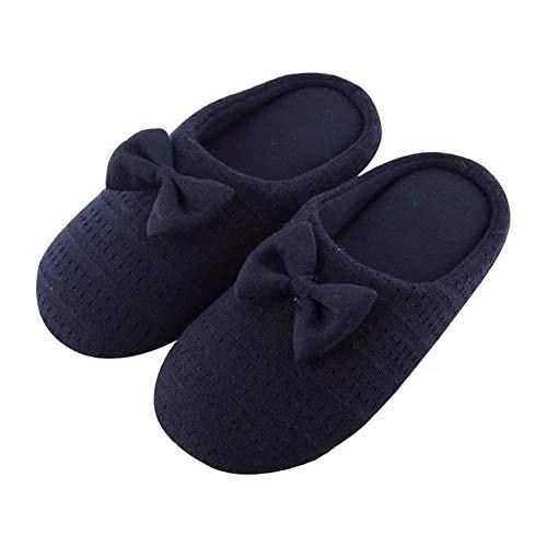 SED un paio di pantofole interne spesse Ms. Antiskid Mianwa Winter,25cm (37-38),ZQ