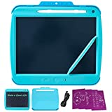DEERMOCHA LCD Writing Tablet, Colorful Drawing Tablet for boy and Girl, Kids Drawing Pad 9 Inch Doodle Board,Toddler Boy and Girl Learning Toys Gift for 3 4 5 6 Years Old (Blue)