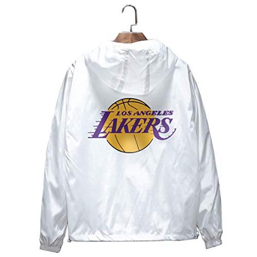 Lakers Kobe Bryant No. 24 Baloncesto Trench Coat Chaqueta Hombre Verano