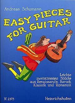 EASY PIECES FOR GUITAR - arrangiert für Gitarre [Noten / Sheetmusic]
