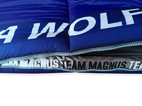 TEAM MAGNUS Saco de Dormir Tundra Wolf para niños 2