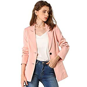 Women's Casual Boyfriend Fashion  Blazer Jacket