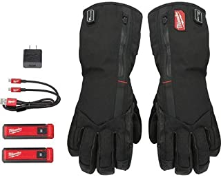 USB Rechargeable Heated Gloves, XL-Large