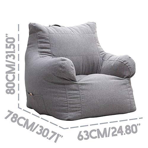 NO BRAND Lazy Bean Bag Funda sofá sin Relleno Sillón