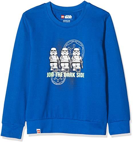 LEGO Jungen cm Star Wars Sweatshirt, Blau (Dark Blue 575), (Herstellergröße: 116)