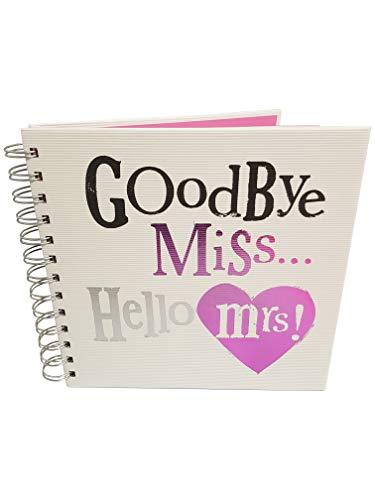 The Bright Side - Album photo « Goodbye Miss... Hello Mrs » pour enterrement de vie de jeune fille
