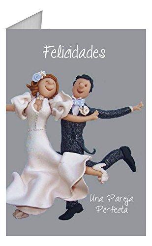 Grupo Erik Editores TF00110 - Tarjeta de felicitación, 11 x 16 cm, diseño Recién Casados