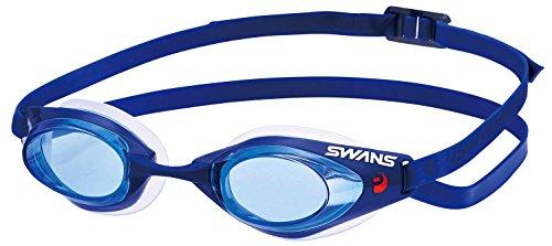 SWANS(スワンズ) 競泳用 スイミング ゴーグル ファルコン PREMIUM ANTI-FOG FINA承認モデル SR-71NPAF ブルー(BNAV)