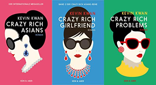 Crazy-Rich-Reihe Band 1-3 plus 1 exklusives Postkartenset