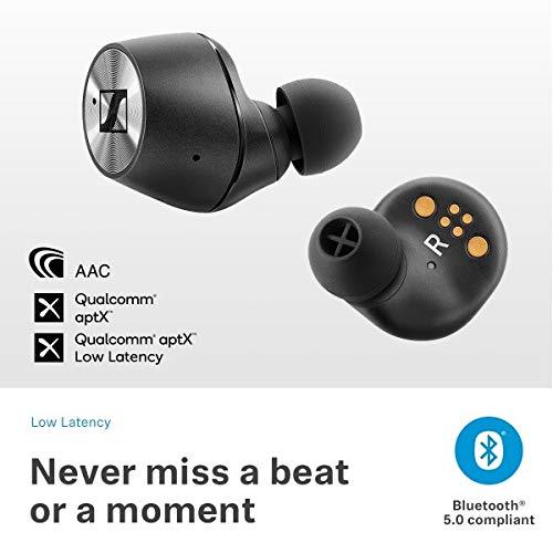 SENNHEISER MOMENTUM Auriculares inalámbricos Bluetooth con control táctil de la punta del dedo