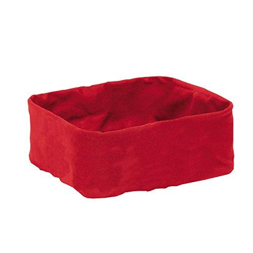 Blomus 63471 Stofftasche Desa für Brotkorb, groß, rot