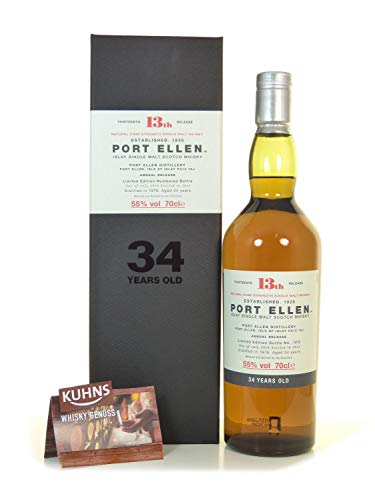 Photo of Port Ellen 34 Year Old 1978 – 13th Release Single Malt Whisky