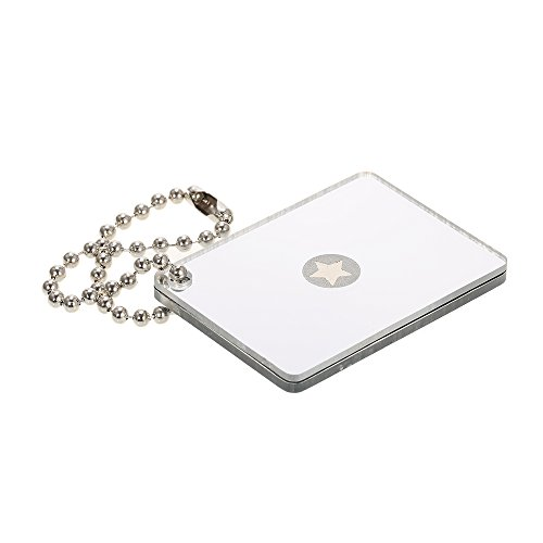 Walmeck Micro Signal Mirror Lightweight Survival Emergency Rescue Signaling Device