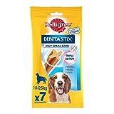 Pedigree Dentastix - Friandises pour moyen chien, 70 bâtonnets à mâcher pour l'hygiène bucco-dentaire (10 sachets de 7 Sticks)
