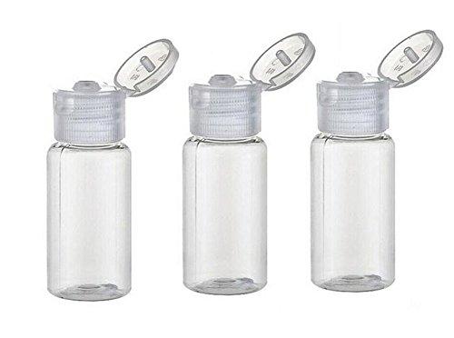 10 Stk 15 ml Klar Leer Kunststoff Flaschen Kleine Kosmetik Flaschen Lotion Behälter