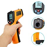 HL Infrared Thermometer -50°C ~ 380°C Non-Contact Digital Laser Infrared Thermometer with LCD