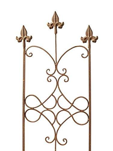 Dekorativer Metall Zaun Verzierungen