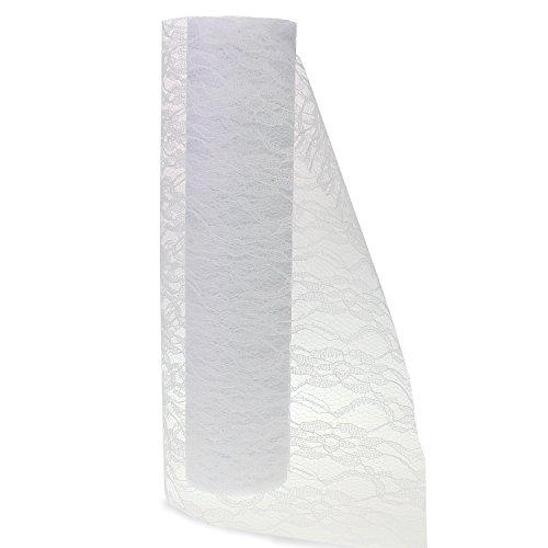 PsmGoods® vintage lace tabel runner stoel sash voor bruiloft Festival evenement tafel decoratie 15 cm * 22 m