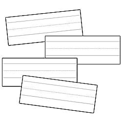 White Word Strips