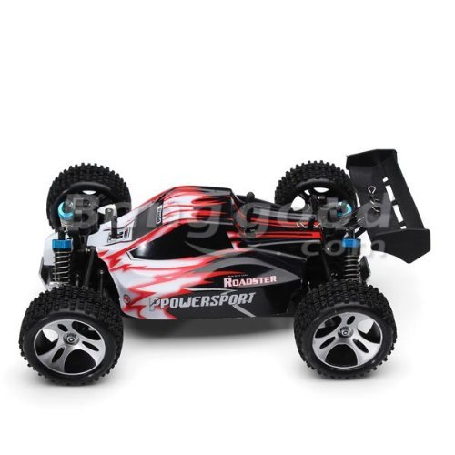 Yacool  Wltoys A959 Rc auto 1/18 2.4 GH 4WD Off-Road Buggy - rosso
