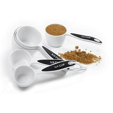 Norpro Grip-Ez Measuring Cup Set Of 6 New Bpa Free Plastic Comfortable Grip