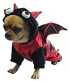 Dogs & Co Halloween Dog Costume, 8-inch, Bat