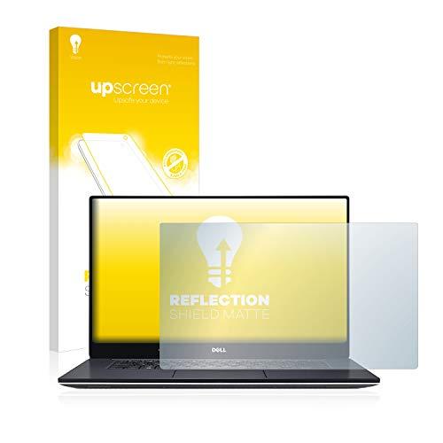 upscreen Entspiegelungs-Schutzfolie kompatibel mit Dell XPS 15 9560 – Anti-Reflex Bildschirmschutz-Folie Matt