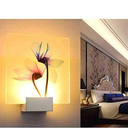 Wandlampen LED Binnenverlichting Contemporary Muur Met 8W LED Gelukkig Bird Decoratie Natural Environment Acryl Wandlamp Warm Wit (Tricolor Dimbare)