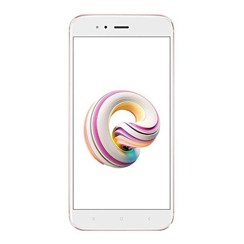 """Xiaomi Mi A1 EU - Smartphone de 5.5"""" (32 GB de almacenamiento interno y 4 GB de RAM, cámara dual con zoom óptimo 2x, Android) color rosa [versión española]"""
