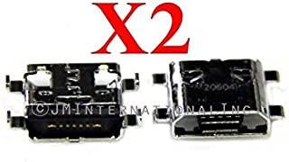 ePartSolution_2X USB Charger Charging Port Dock Connector USB Port for Samsung Galaxy Reverb SPH-M950 Replacement Part USA Seller