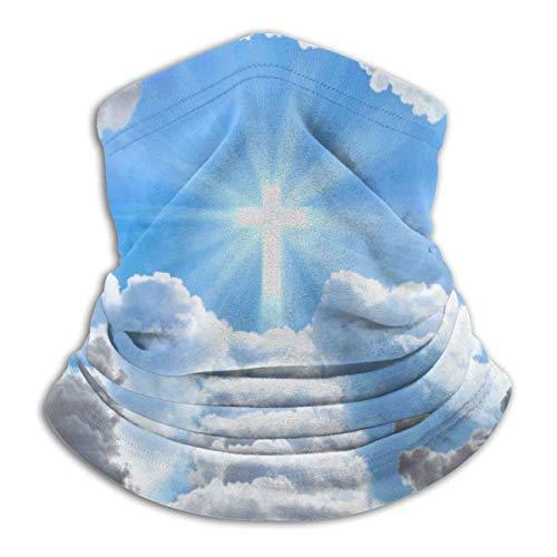 Niet toepasbare trap leidt tot cross neck gazon verwarmer winddicht masker stof gezichtskleding UV-gezichtsmasker bivakmuts sjaal voor outdoor sport zwart