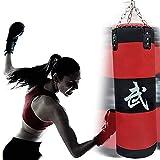 XHLLX Boxsack Ungefülltes Set mit hängender Kette Kickbox-Training Ideal für MMA, Muay Thai