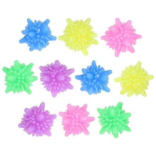 ounona Lavado pelotas wasche bola plástico bolas de secado para lavadora 10pcs...