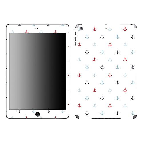 'Disagu SF 106382_ 1040Designer Film for Apple iPad Mini Wi-Fi–motif'Small Anchor With Blue And Red Clear