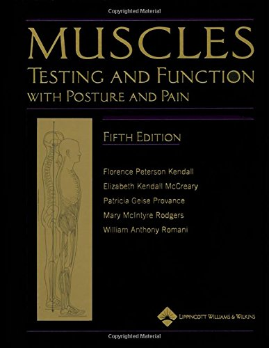 Muscles: Testing and Testing and Function with Posture...