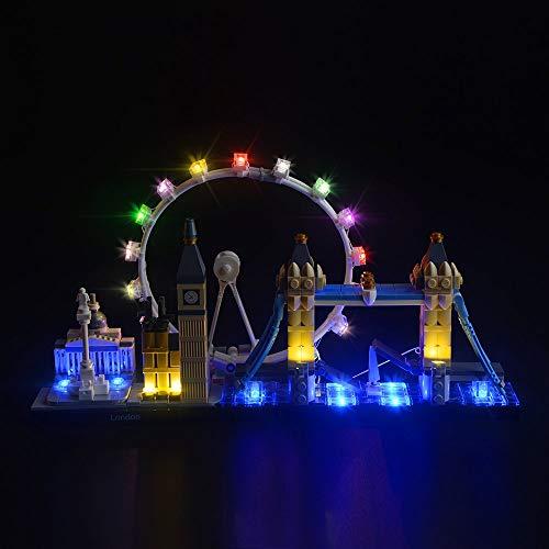 LIGHTAILING Licht-Set Für (Architecture London Skyline Sammlungsset) Modell - LED Licht-Set Kompatibel Mit Lego 21034(Modell Nicht Enthalten)