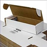 BCW 660 Count- Corrugated Cardboard Storage Box - Baseball, Football, Basketb...