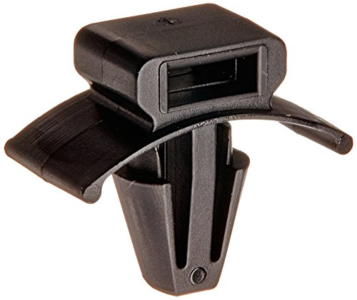 Panduit PWMS-H25-C0 Cable Tie Mount, Winged Push Barb, Weather Resistant Nylon 6.6, 0.25-Inch Hole, Black (100-Pack)