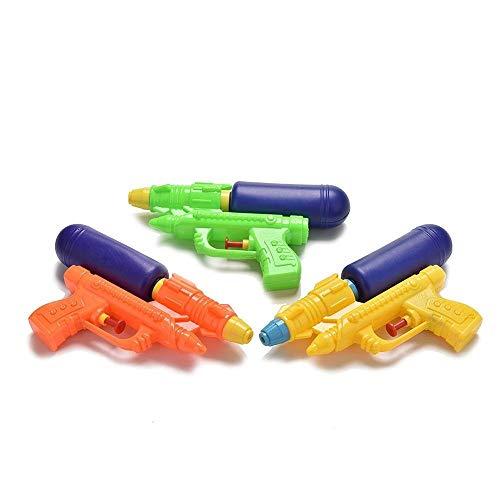 LIANTIAN Juguetes y Juegos Pistola de Agua ABS de Juguete for niños al Aire Libre de 3 Piezas, Entrega de Color Aleatorio Juguetes para la Piscina
