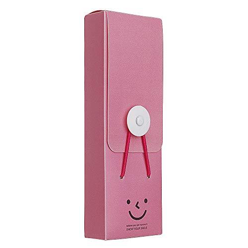 VIDOO Candy Farbe Bleistift Tasche Fall Schule Liefert Praktische Briefpapier Geschenk Süße Große Kapazität Stift Bleistift Fall - Rose