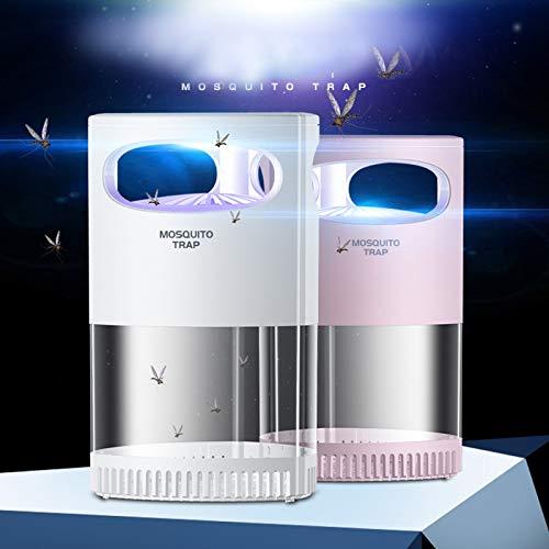 VESNIBA Matainsectos eléctrico, lámpara de trampa para insectos, sin radiación, luz ultravioleta USB, sin productos químicos
