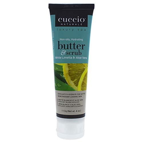 Limetta & Aloe Vera Tube de gommage au beurre Blanc 4oz