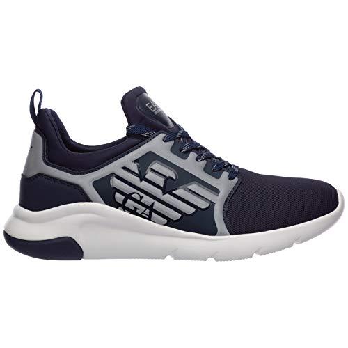 Emporio Armani EA7 Herren Sneaker blu 46 EU