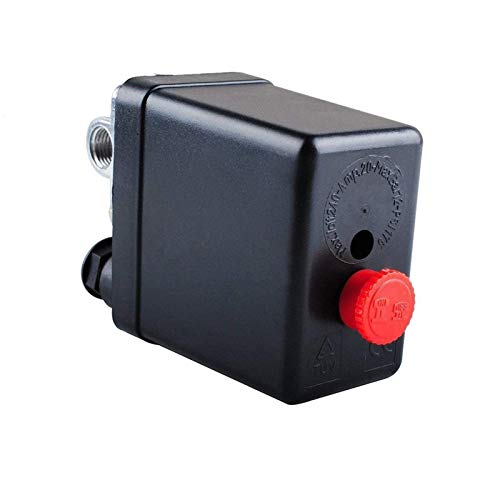 Central Pneumatic Air Compressor Pressure Switch Control Valve Replacement Parts 90-120 PSI 240V Air Compressor Pressure Switch Control Valve